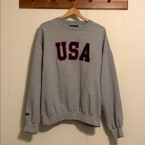 Vintage JanSport Embroidered USA Crewneck
